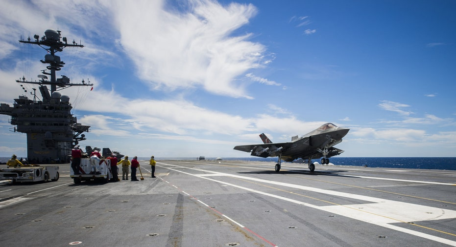 F-35 on USS American Lockheed Martin FBN