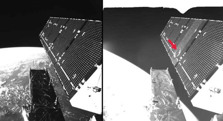 Europe Satellite Damaged