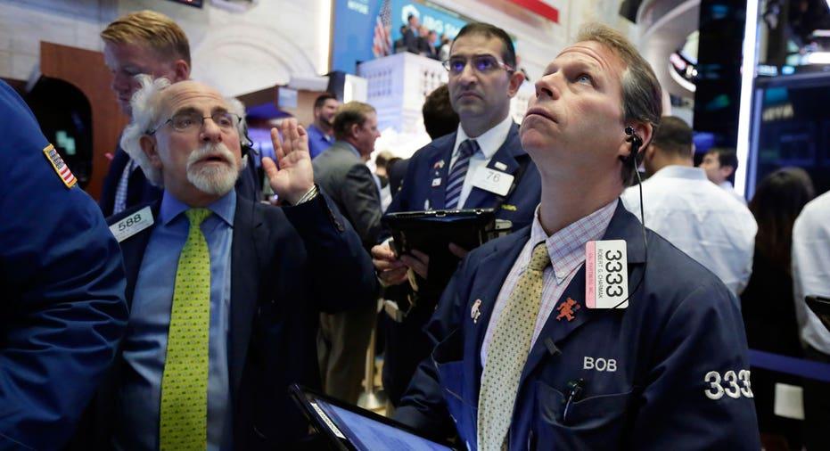 NYSE trader looking up FBN AP