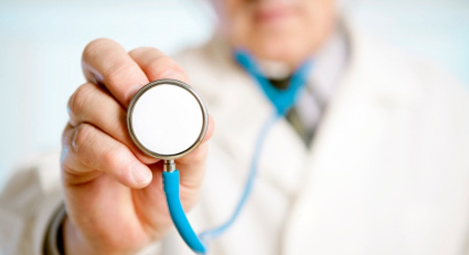 Doctor With Stethoscope Health Care