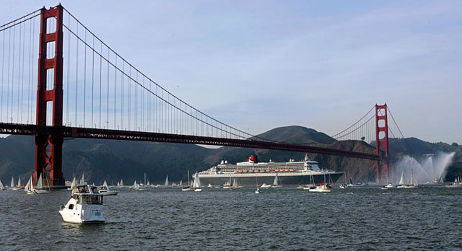 Golden Gate Bridge, San Francisco, Reuters