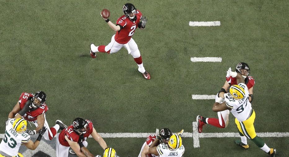 Atlanta Falcons Matt Ryan 2017 NFC Championship FBN
