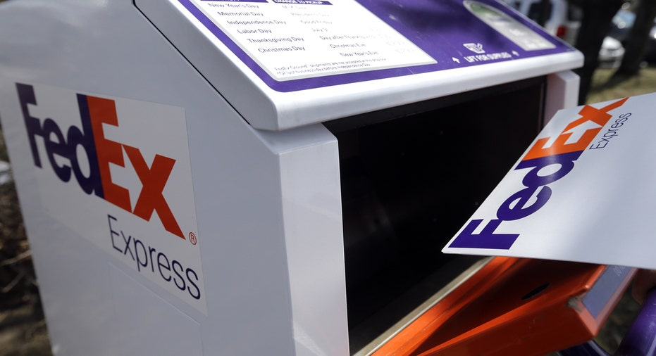 FedEx express envelope and stand FBN AP