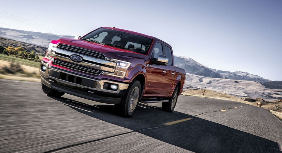 2018 Ford F-150 on road FBN