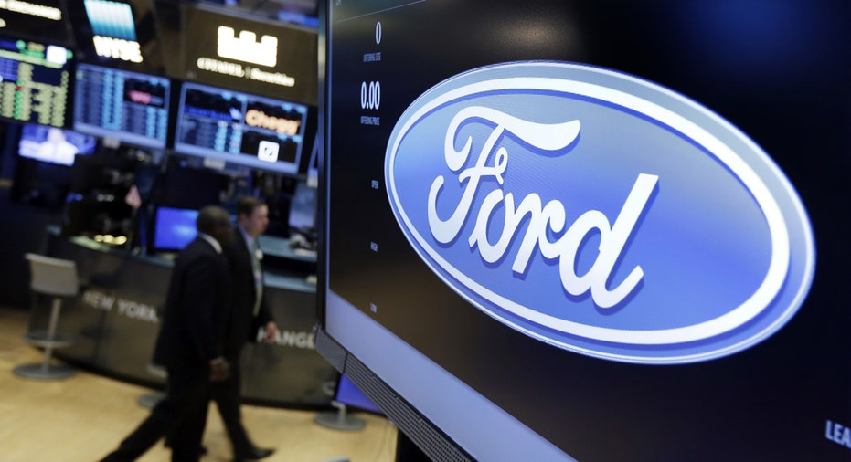 Ford logo on NYSE FBN