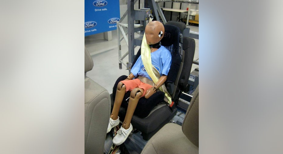 New Inflatable Seatbelt