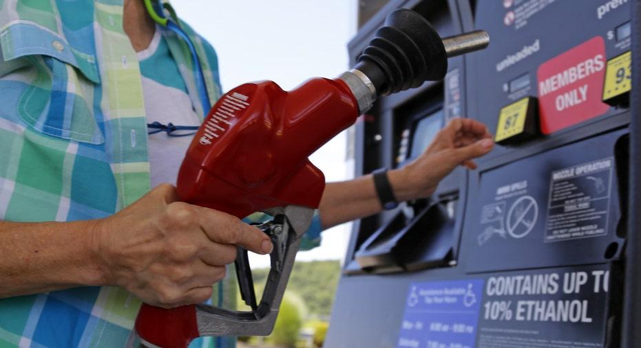 Gas pump customer FBN