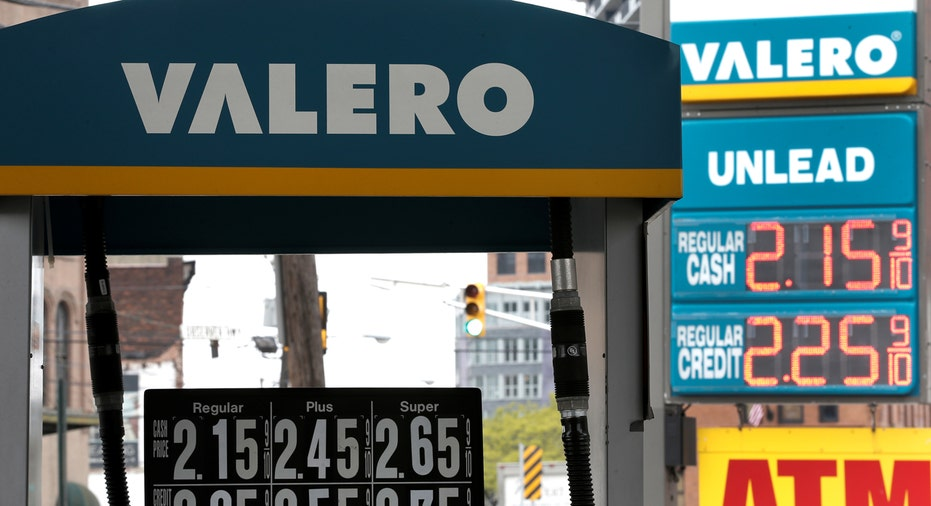 Valero gas station in New Jersey FBN