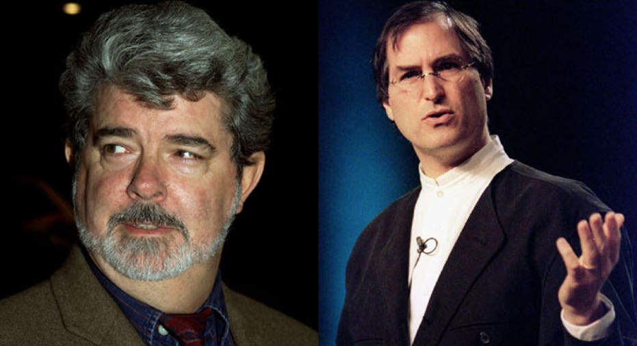 George Lucas & Steve Jobs, Reuters