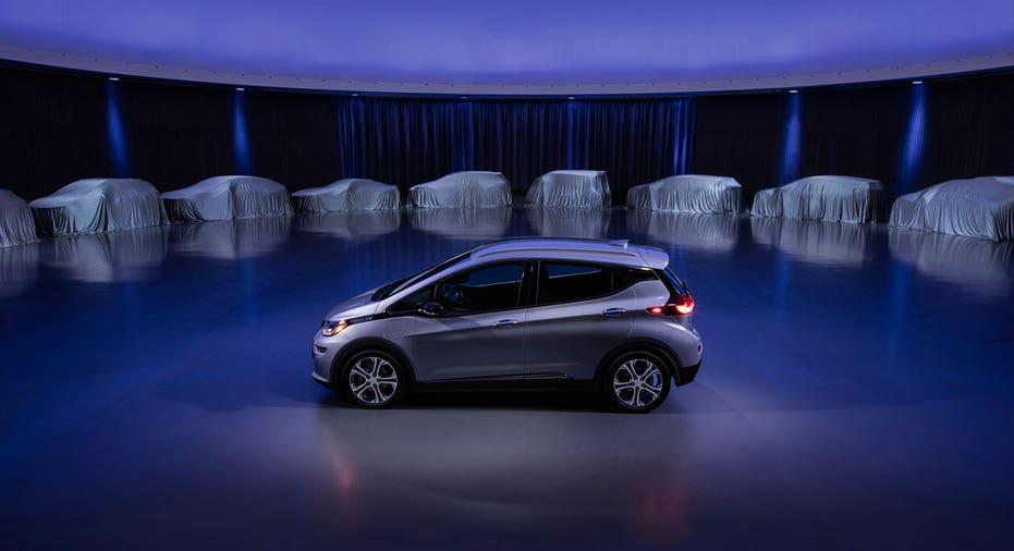 General Motors GM electric vehicles FBN