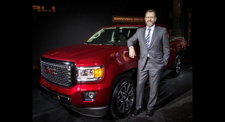 2017 GMC Canyon Denali, General Motors trucks