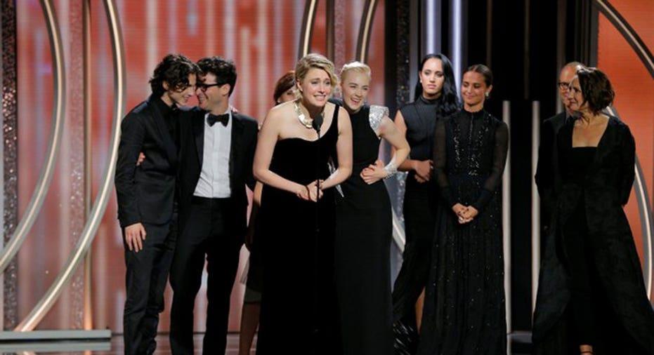 Golden Globes Lady Bird   Paul Drinkwater/Courtesy of NBC/Handout via REUTERS