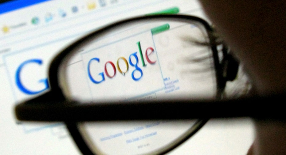 Person Reading Google Search Screen