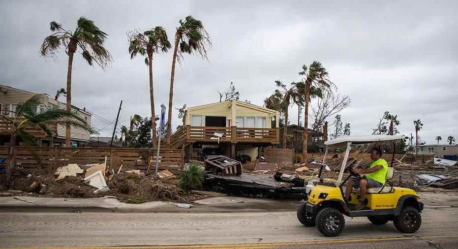 Hurricane Harvey damaged house AP FBN