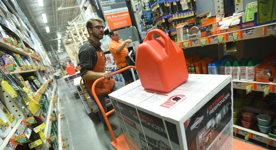 Home Depot store storm prep FBN