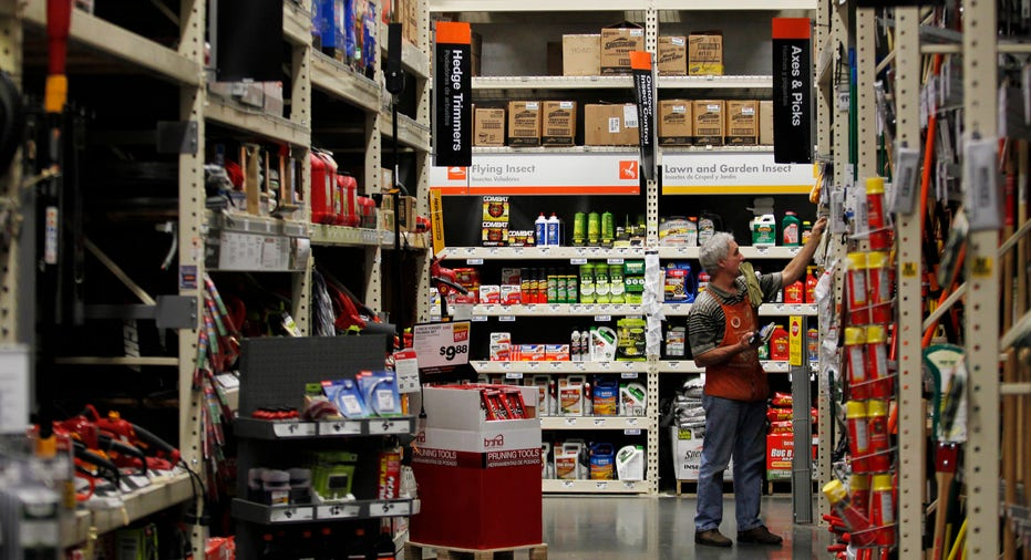 Home Depot store interior FBN