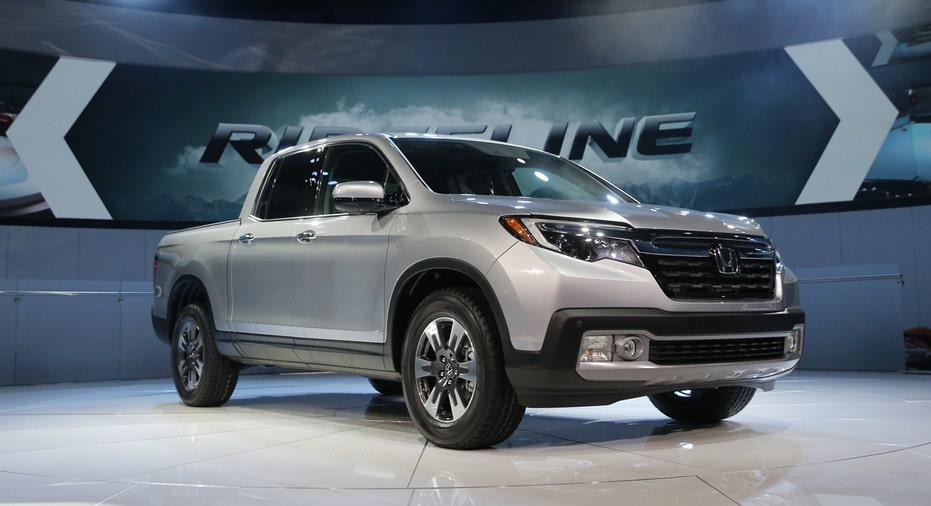 2017 Honda Ridgeline truck, Detroit Auto Show