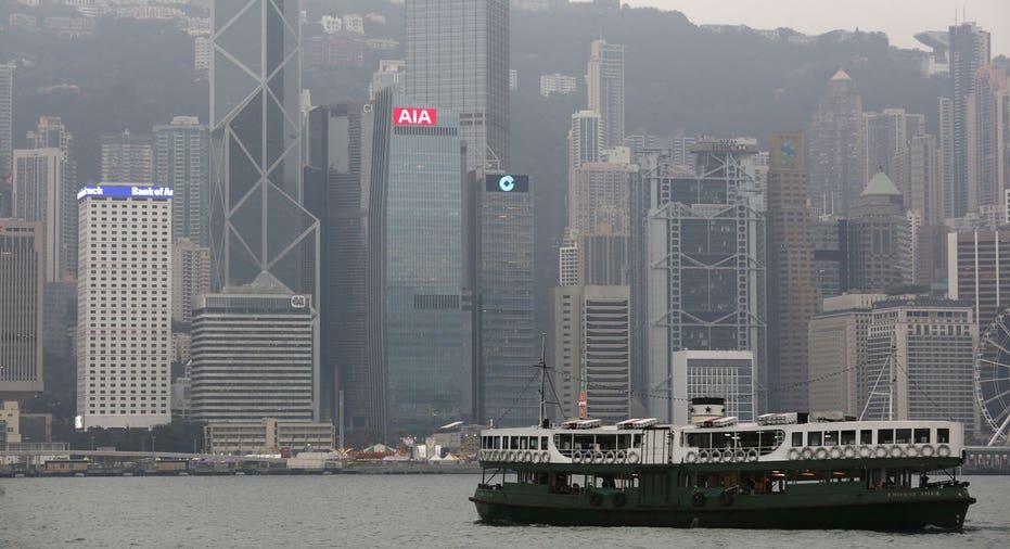 Hong Kong Harbor  Reuters/Bobby Yip