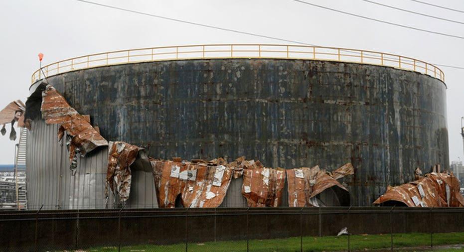 Houston Oil Damage REUTERS/Rick Wilking