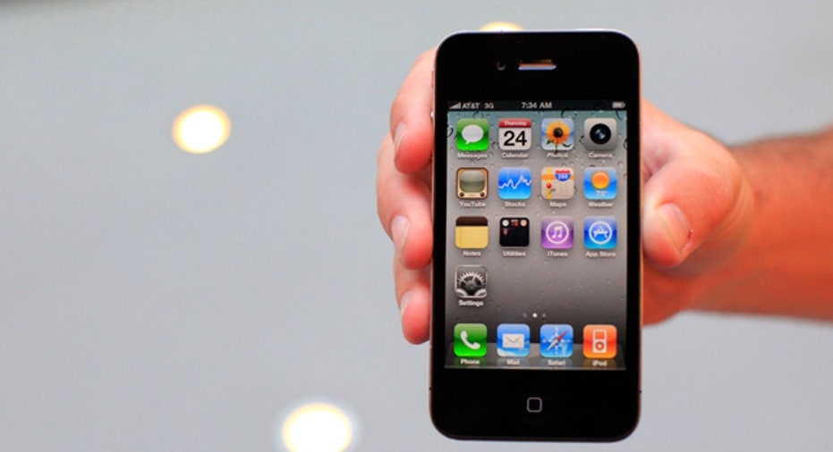 iPhone 4 in Hand