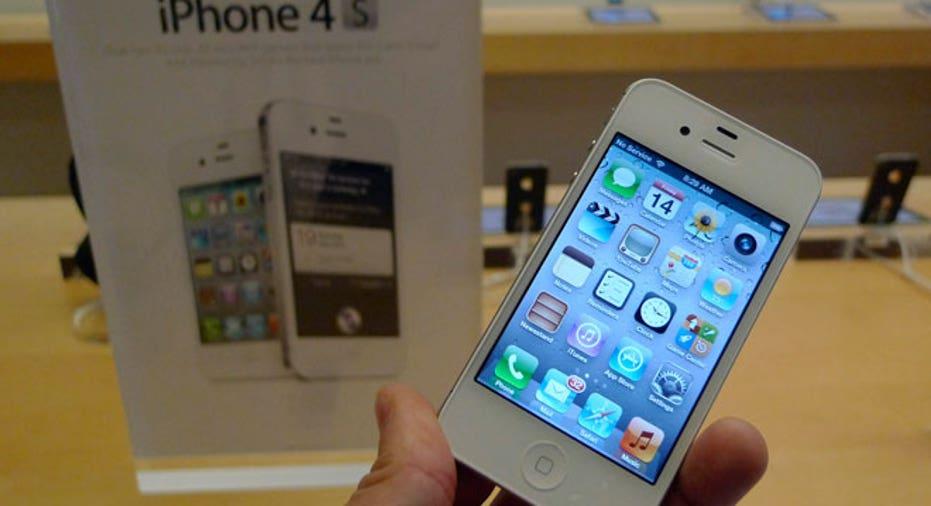 iPhone 4S on Display
