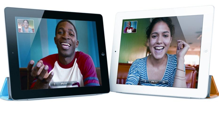 iPad 2 Facetime, slideshow