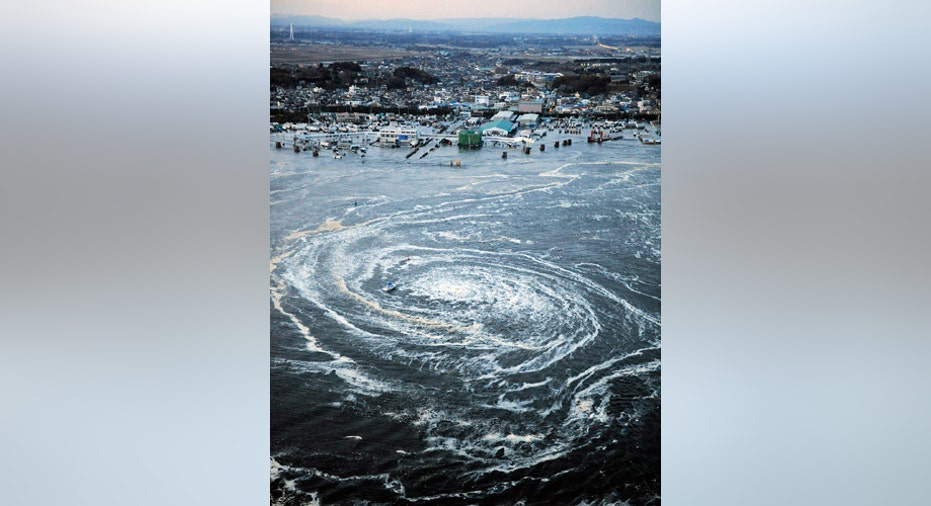 Japan Quake Whirlpool, vertical size
