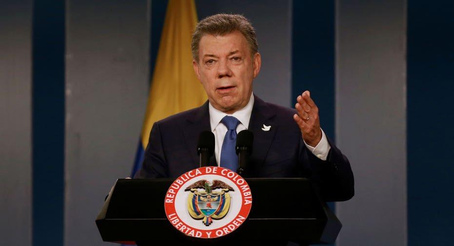 Juan Manuel Santos  Reuters