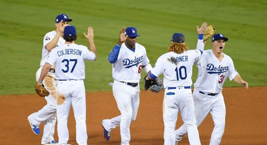 Dodgers WS GM6 Jayne Kamin-Oncea-USA TODAY Sports