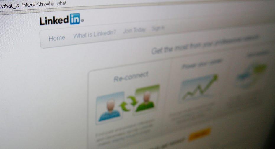 LinkedIn Profile Page
