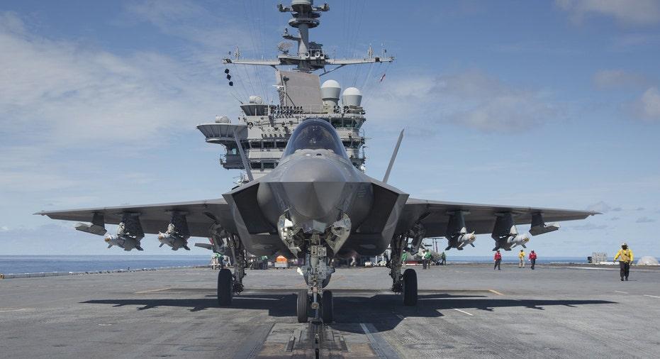 Lockheed Martin F-35 front view FBN