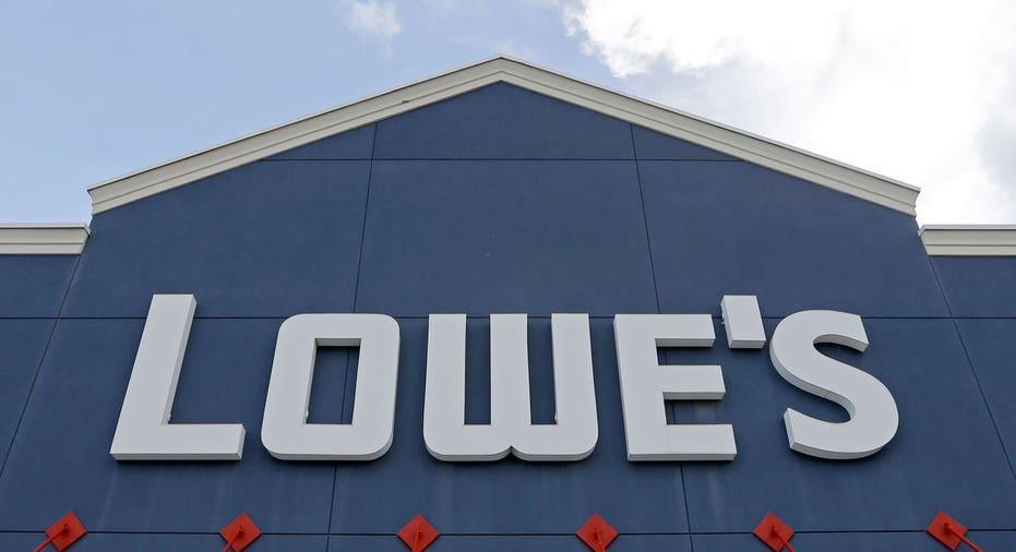 Lowe's store sign AP FBN
