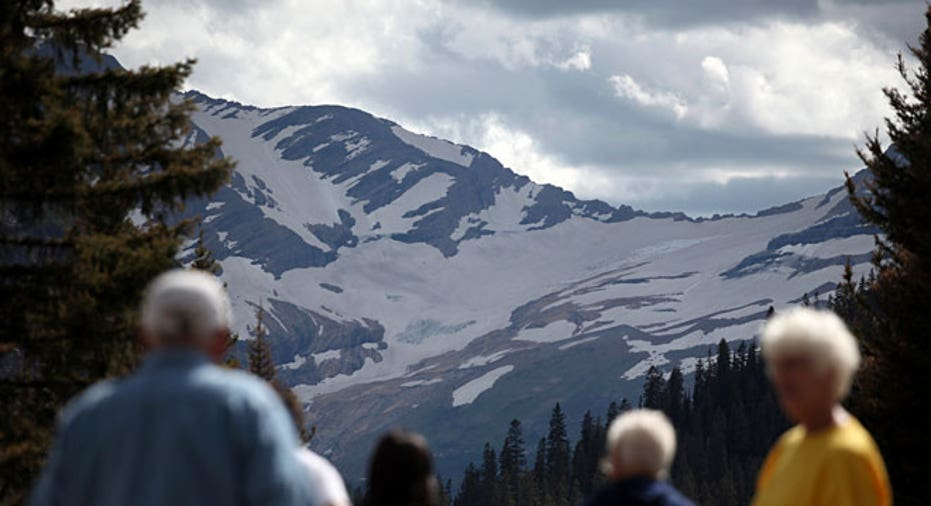 Montana, retirement, elderly, Jackson Glacier, national park