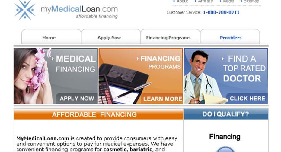 my medical loan website