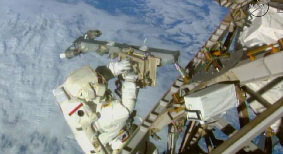 NASA AStronaut, Space FBN