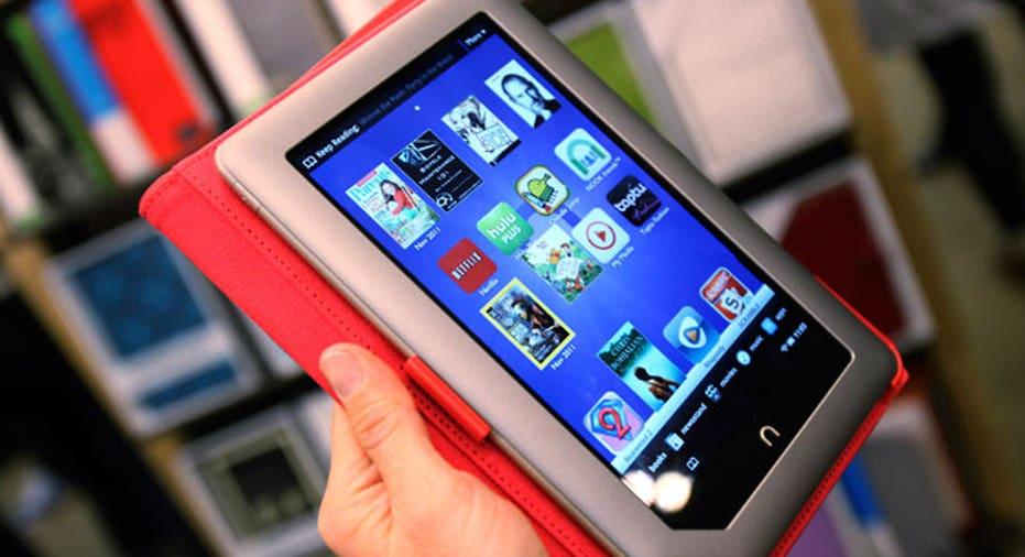 New Nook, Nook Barnes and Nobles, Nook Tablet