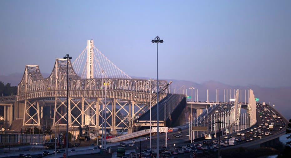 Oakland, San Francisco-Oakland Bay bridge