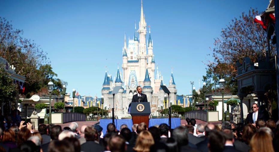 Obama at Disney World