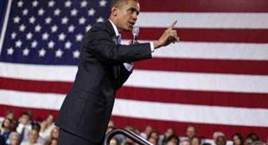President Obama attends a