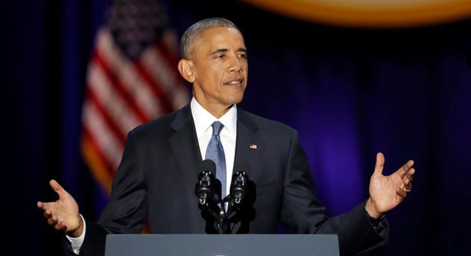 Obama Farewell  Reuters