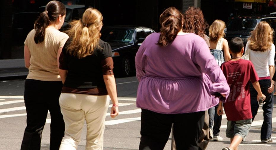 Obesity Pedestrians Walking, Reuters