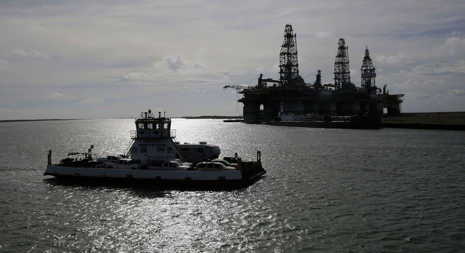 Oil platform in Gulf of Mexico AP FBN