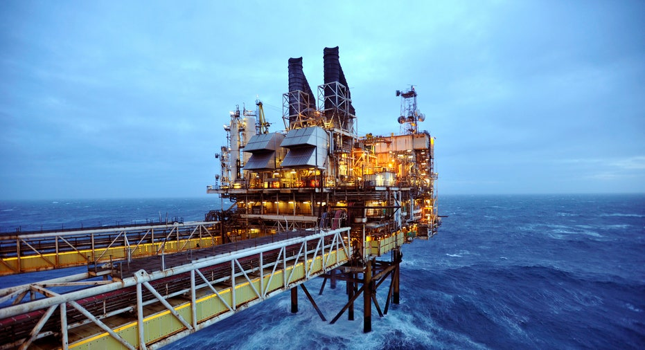 Deep ocean oil rig FBN