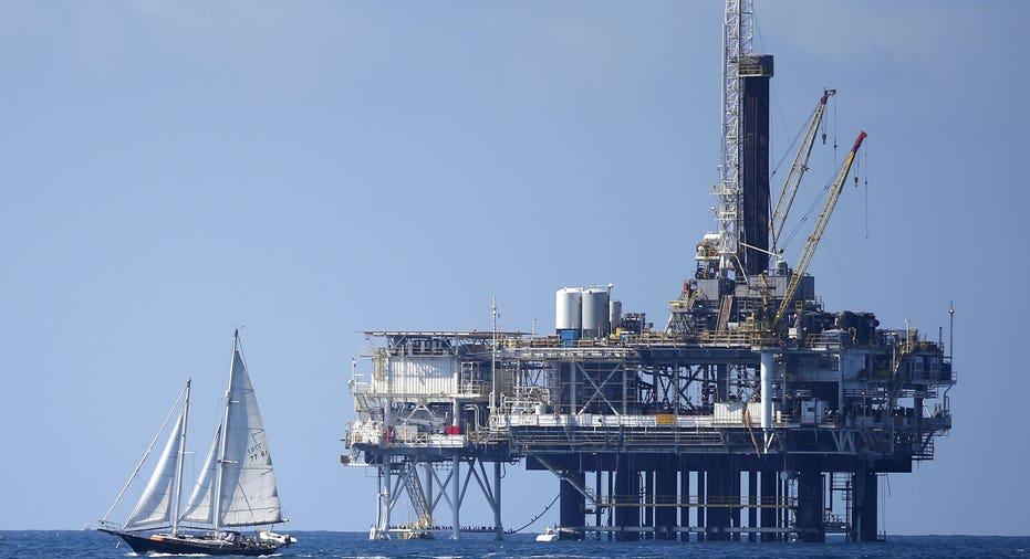 Oil Rig  Reuters