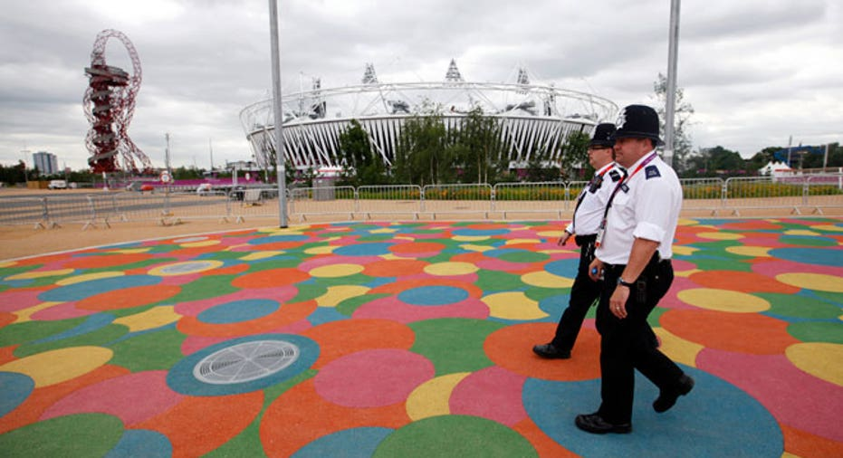 London Olympic Stadium Security