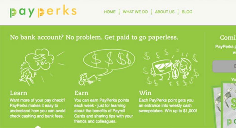Pay Perks Intro Slide, SBC