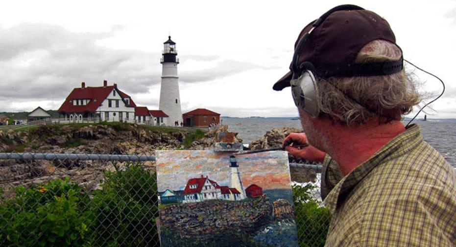 Portland Maine Lighthouse, Reuters