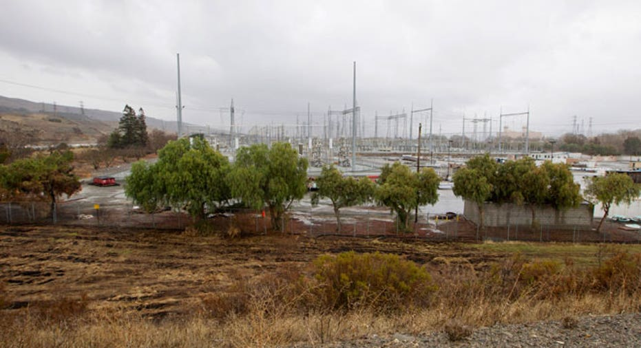 Pacific Gas and Electric Company, Metcalf Power Substation, San Jose