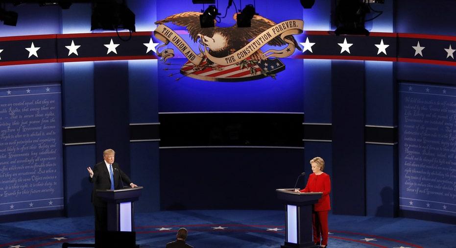clinton trump debate 2016