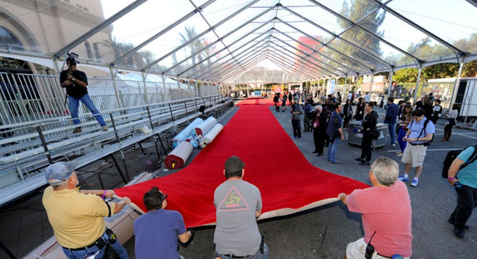 red carpet, workers, los angeles, LA, hollywood, Oscars, academy awards